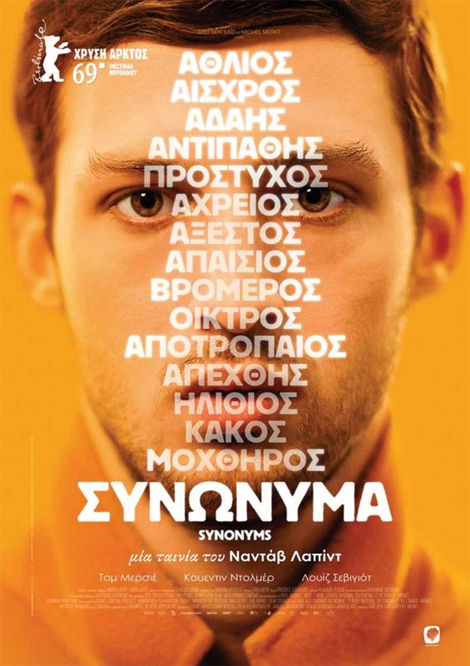 Συνώνυμα (Synonymes / Synonyms) Poster Πόστερ