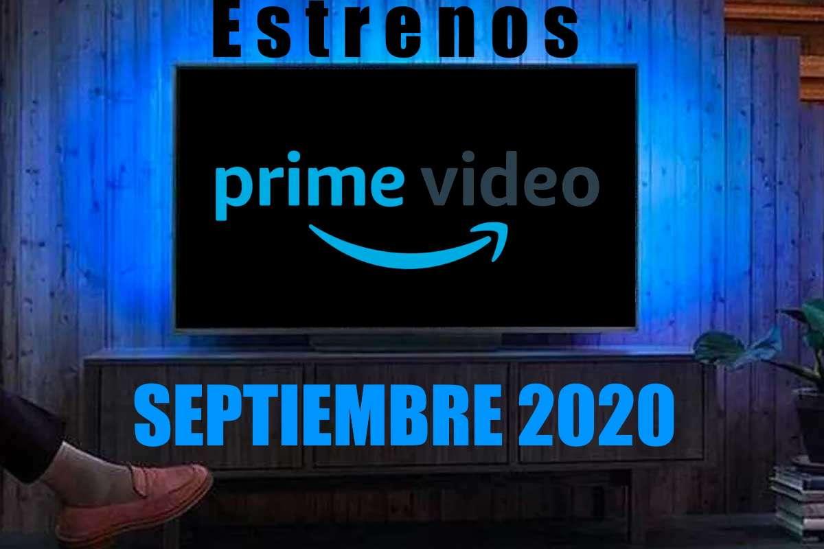Estrenos en Amazon Prime para el mes de septiembre 2020
