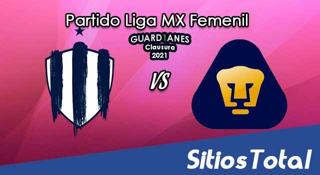 Monterrey vs Pumas en Vivo – Transmisión por TV, Fecha, Horario, MxM, Resultado – Vuelta Cuartos de Final de Guardianes 2021 de la Liga MX Femenil