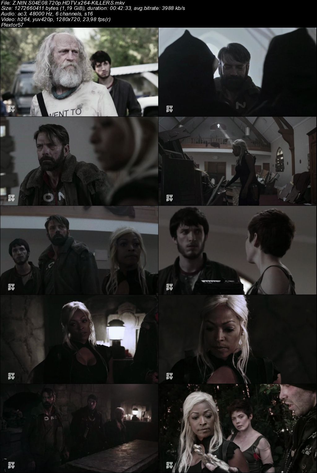 Z Nation 4. Sezon Tüm Bölümler