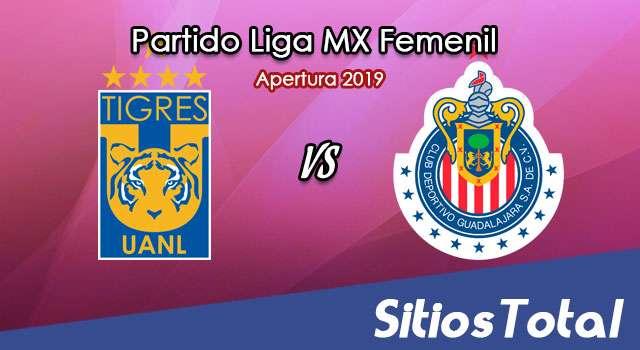 Ver Tigres vs Chivas en Vivo – Liga MX Femenil – Apertura 2019 – Lunes 15 de Julio del 2019