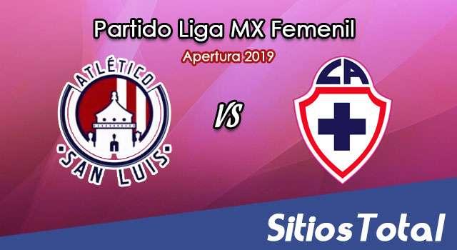 Ver Atlético San Luis vs Cruz Azul en Vivo – Liga MX Femenil – Apertura 2019 – Lunes 19 de Agosto del 2019