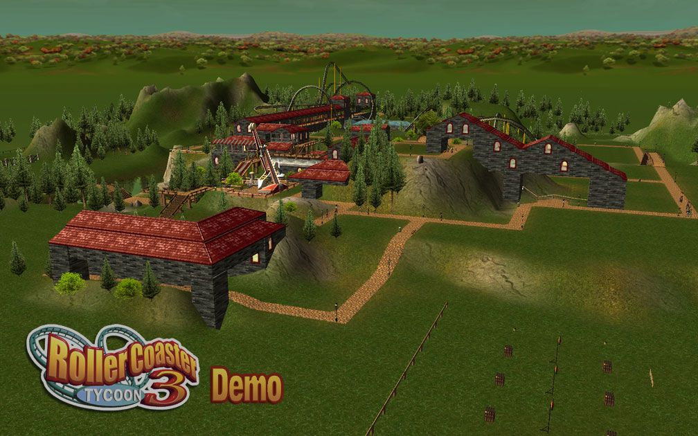 Image 01 - My Downloads - Scenario: RCT3 Demo ParkSave