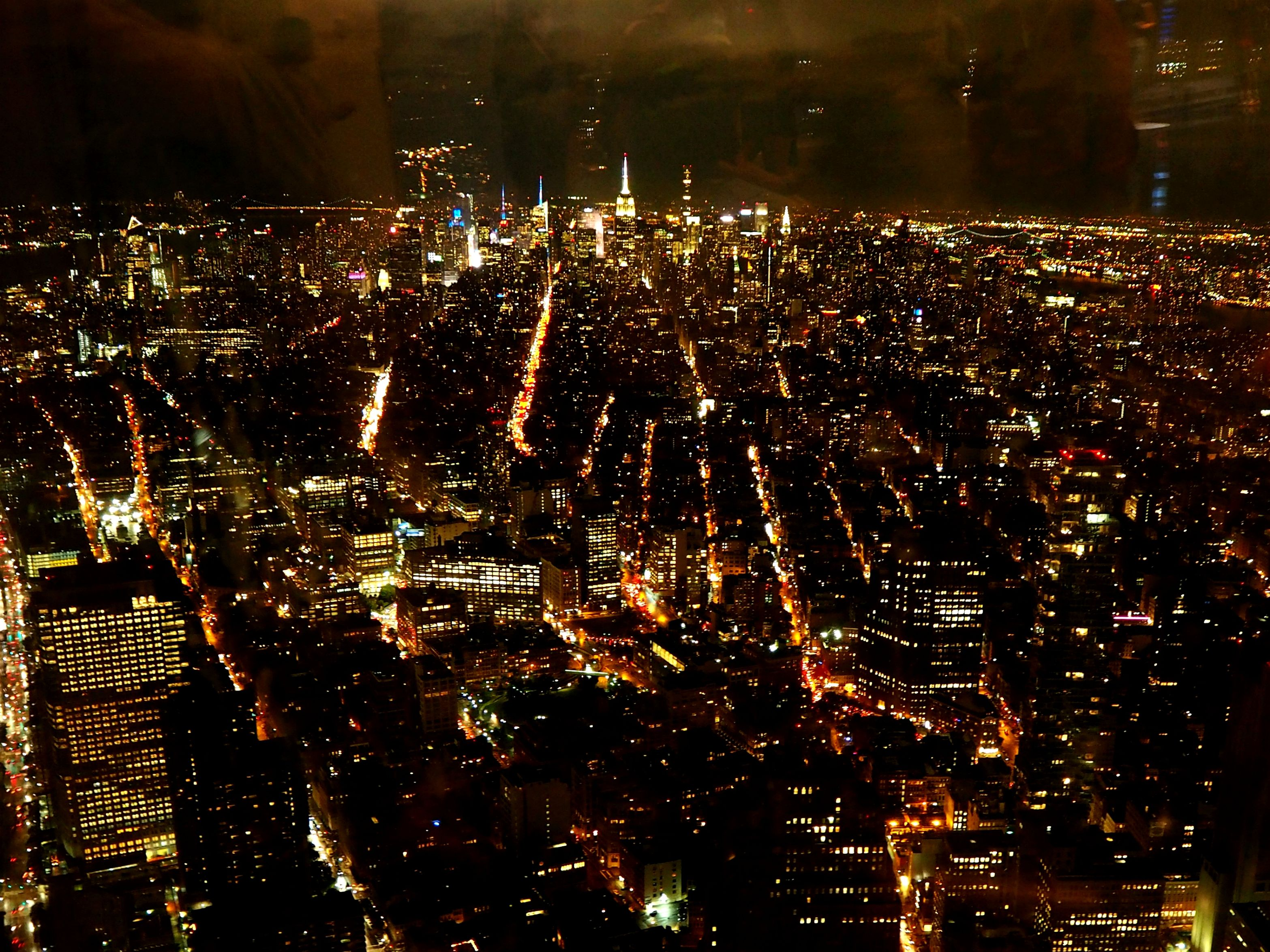 View of Manhattan from One World Observatory