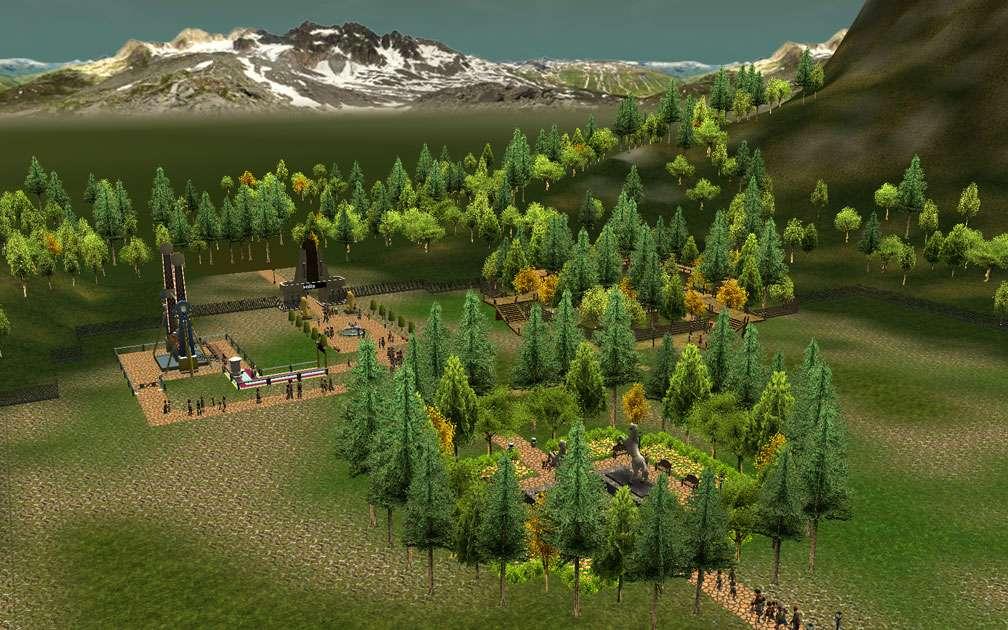 Lead Image for FlightToAtlantis.net: RCT3 FAQ: Campaign Scenario Directory Specifics: Vanilla Hills