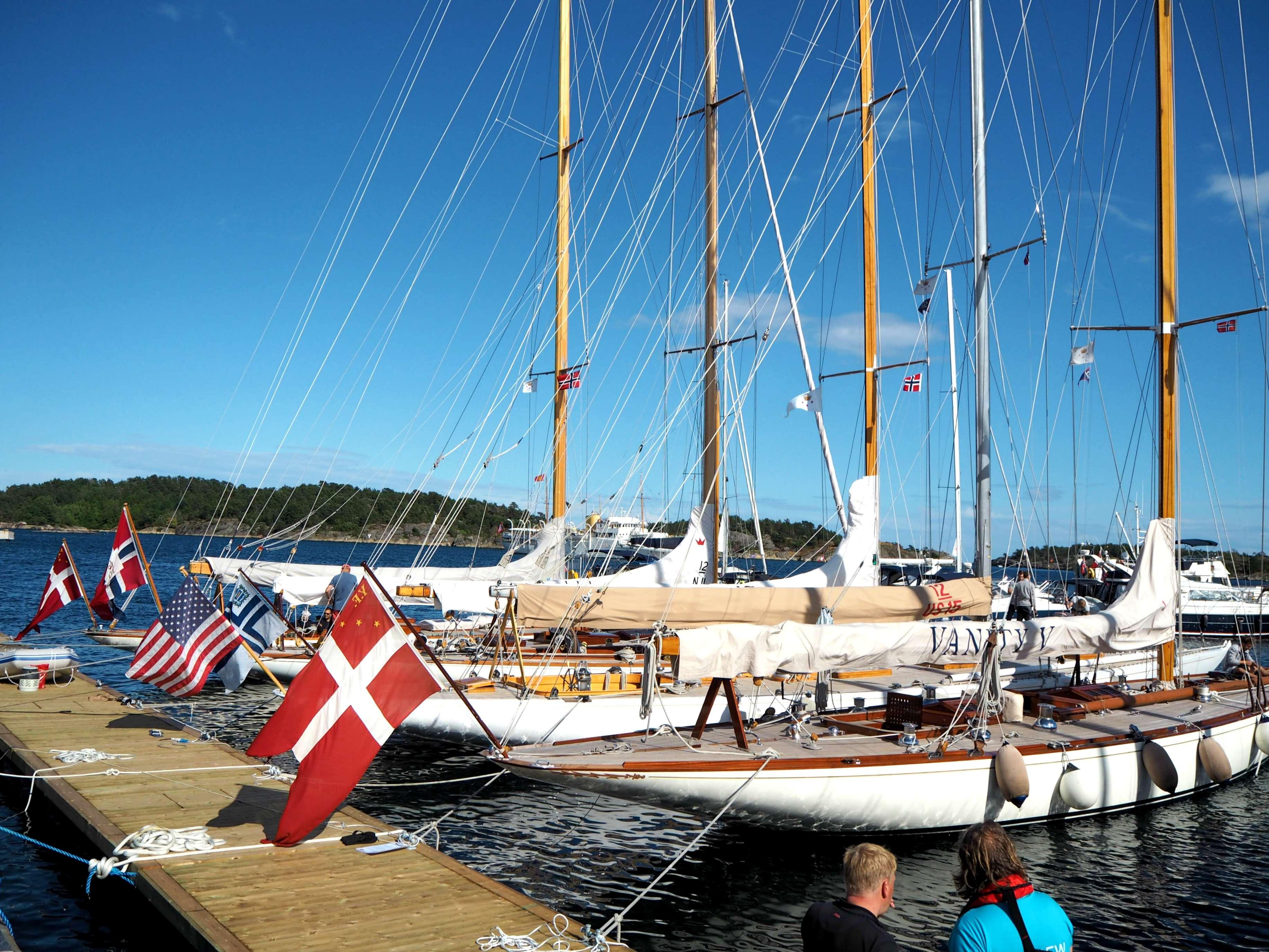Wooden boat festival in Risør