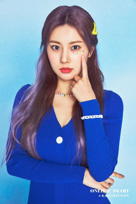 Kpop IZ*ONE Oneiric Diary Beauty Fashion Looks