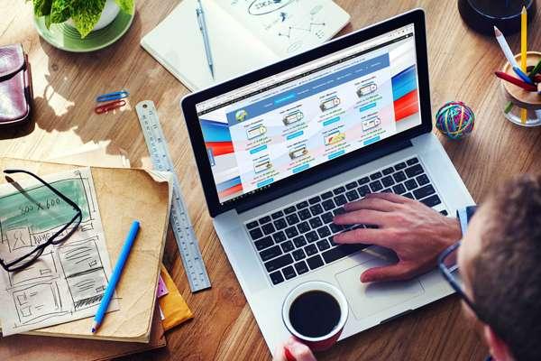 Главные этапы при разработке и проектировании сайта