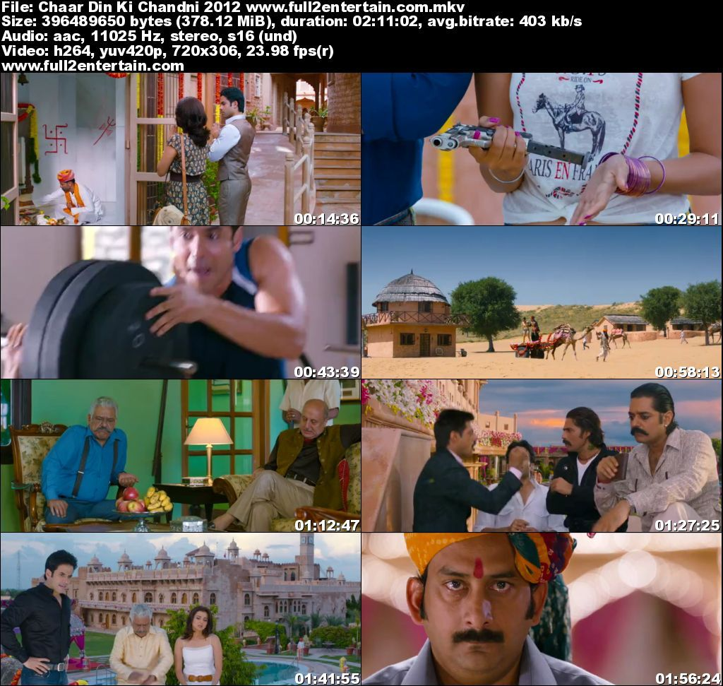 Chaar Din Ki Chandni 2012 Full Movie Download Free in Brrip 720p