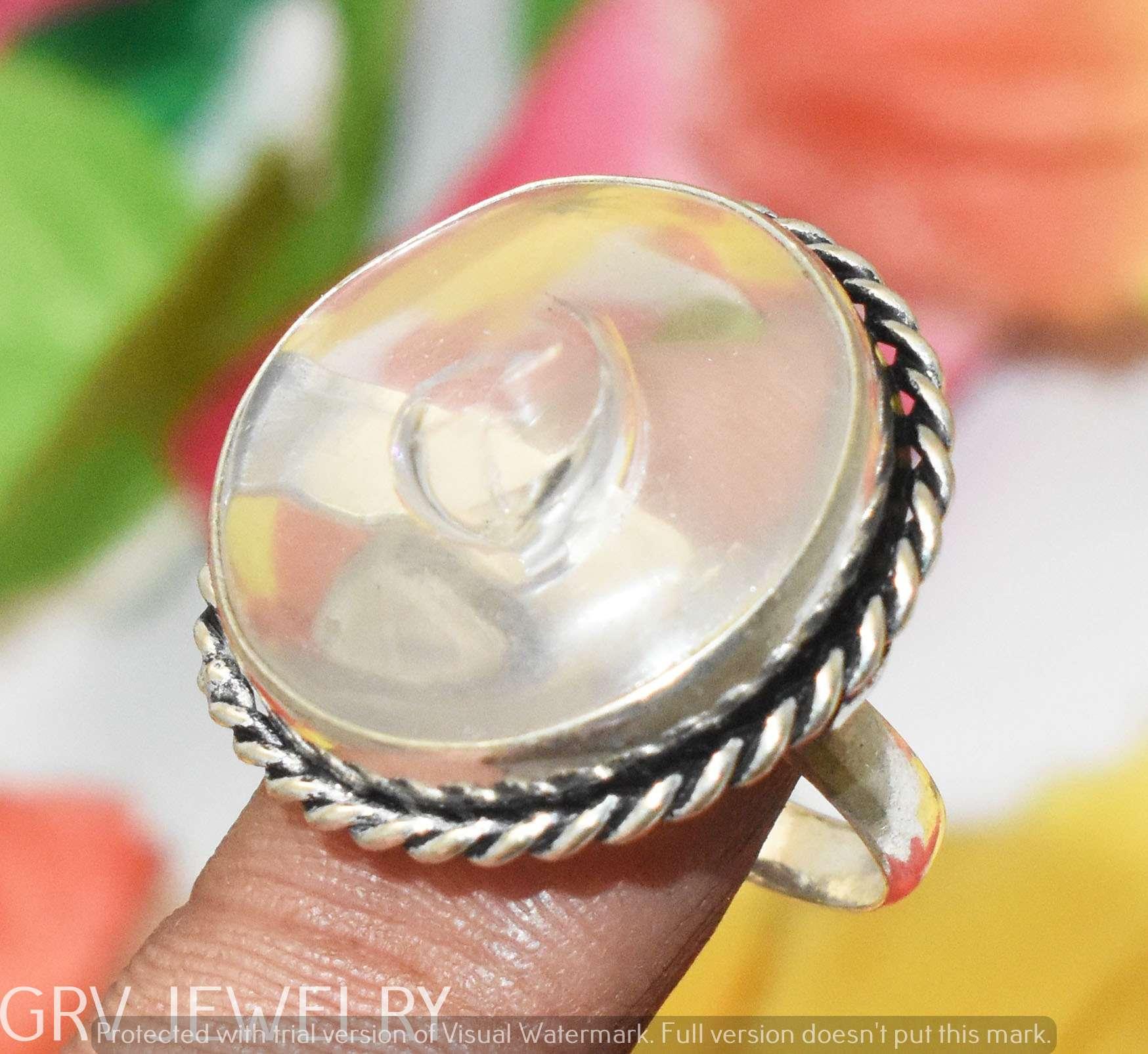 DV Jewels Clear Quartz Ring