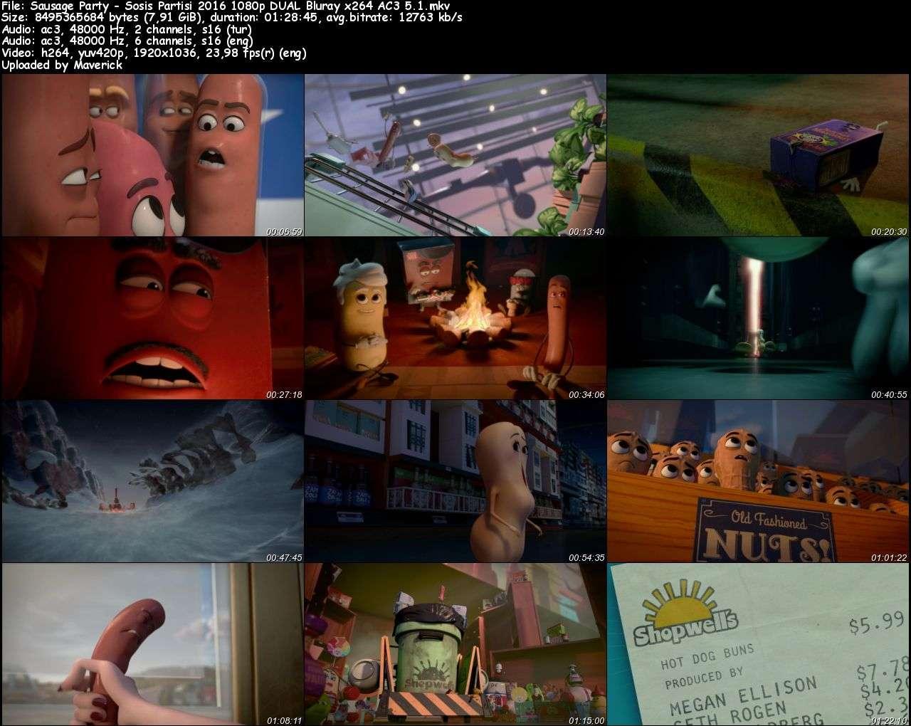 Sosis Partisi - 2016 BluRay 1080p DuaL MKV indir