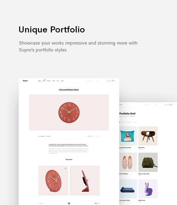 Supro | Minimalist eCommerce PSD Template - 13