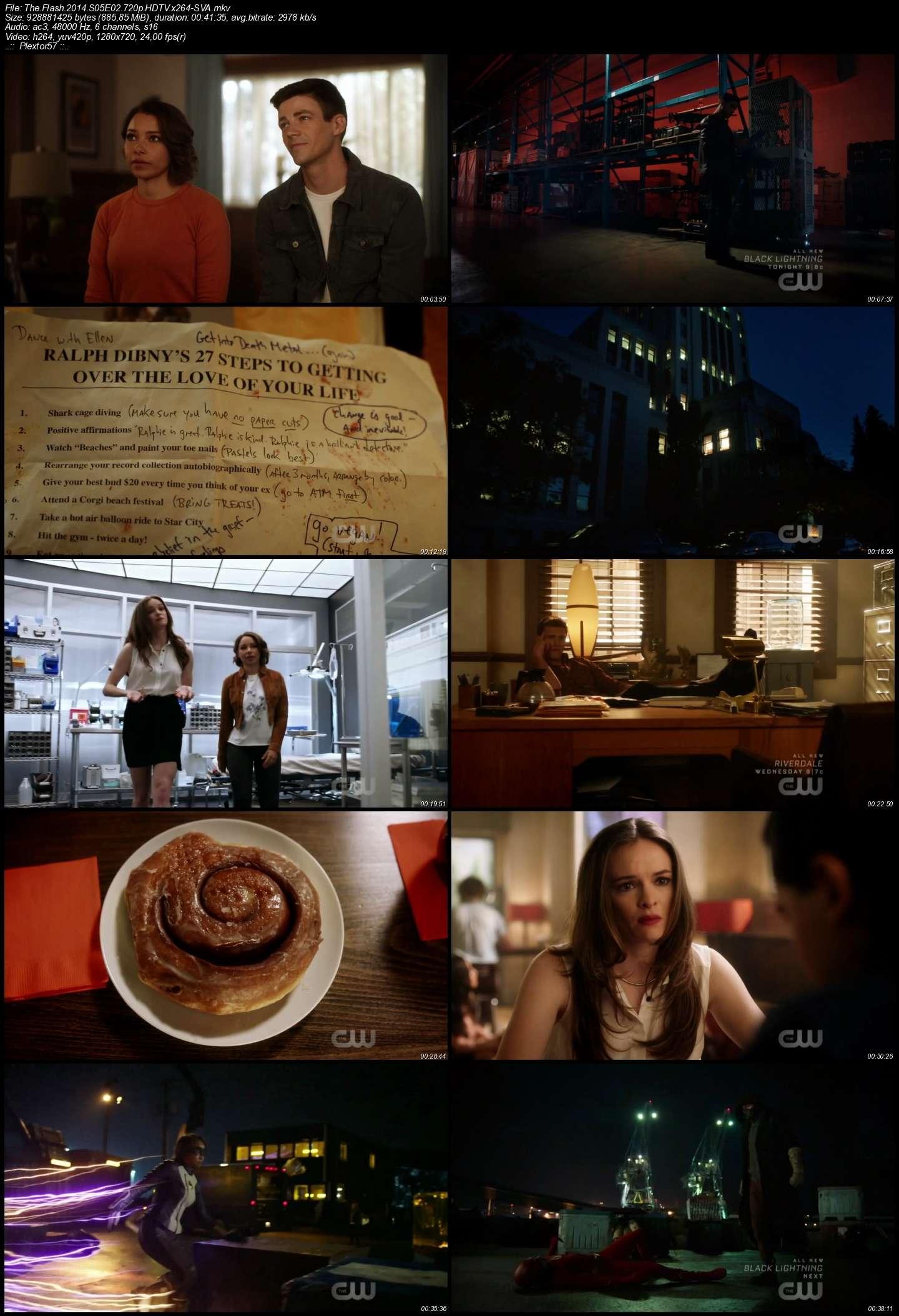 The Flash Tüm Bölümler