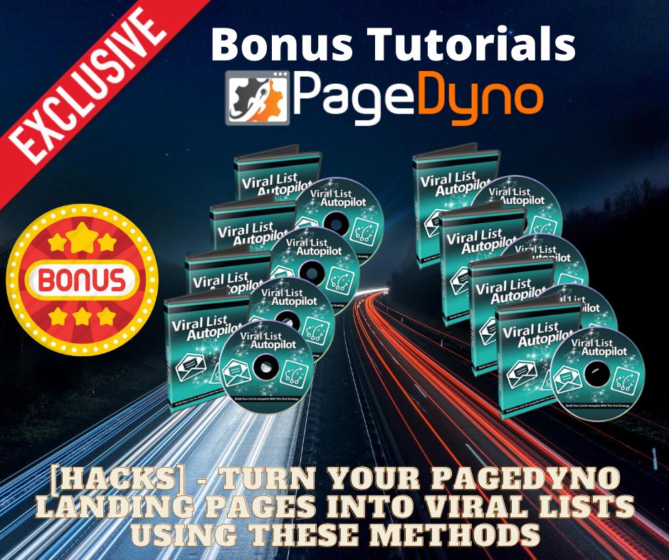 Page Dyno Review - Bonus 2 - Viral List Profits