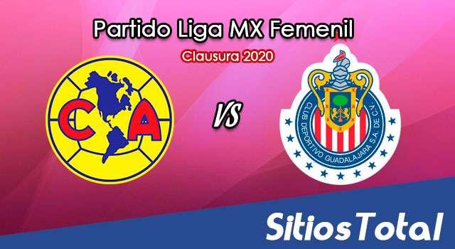 Ver América vs Chivas en Vivo – Partido de Ida – Cuartos de Final – Liga MX Femenil – Guardianes – Viernes 27 de Noviembre del 2020