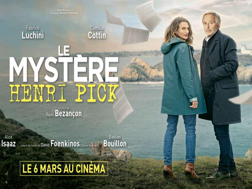 Το Μυστήριο του Κυρίου Πικ (Le Mystere Henri Pick) - Trailer / Τρέιλερ Movie