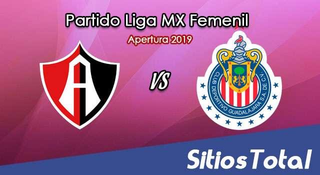 Ver Atlas vs Chivas en Vivo – Liga MX Femenil – Apertura 2019 – Sábado 19 de Octubre del 2019
