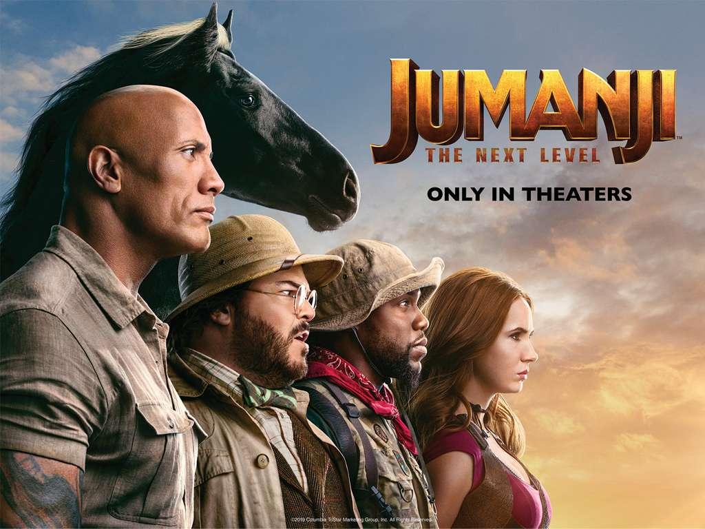 Jumanji: Η Επόμενη Πίστα (Jumanji: The Next Level) Poster Πόστερ Wallpaper