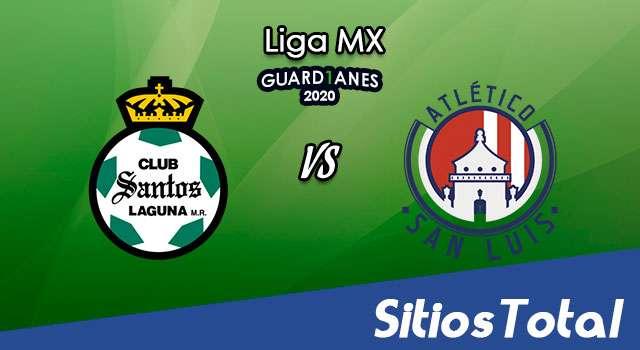 Santos vs Atlético San Luis en Vivo – Liga MX – Guardianes 2020 – Domingo 25 de Octubre del 2020