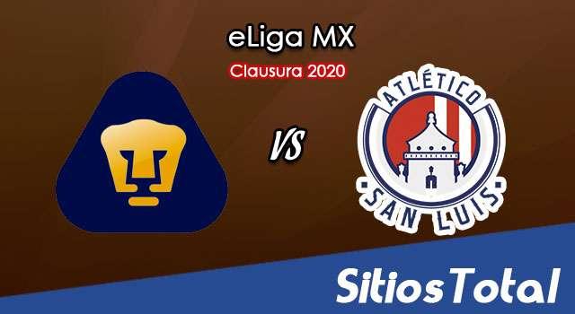 Pumas vs Atlético San Luis en Vivo – eLiga MX – Domingo 26 de Abril del 2020