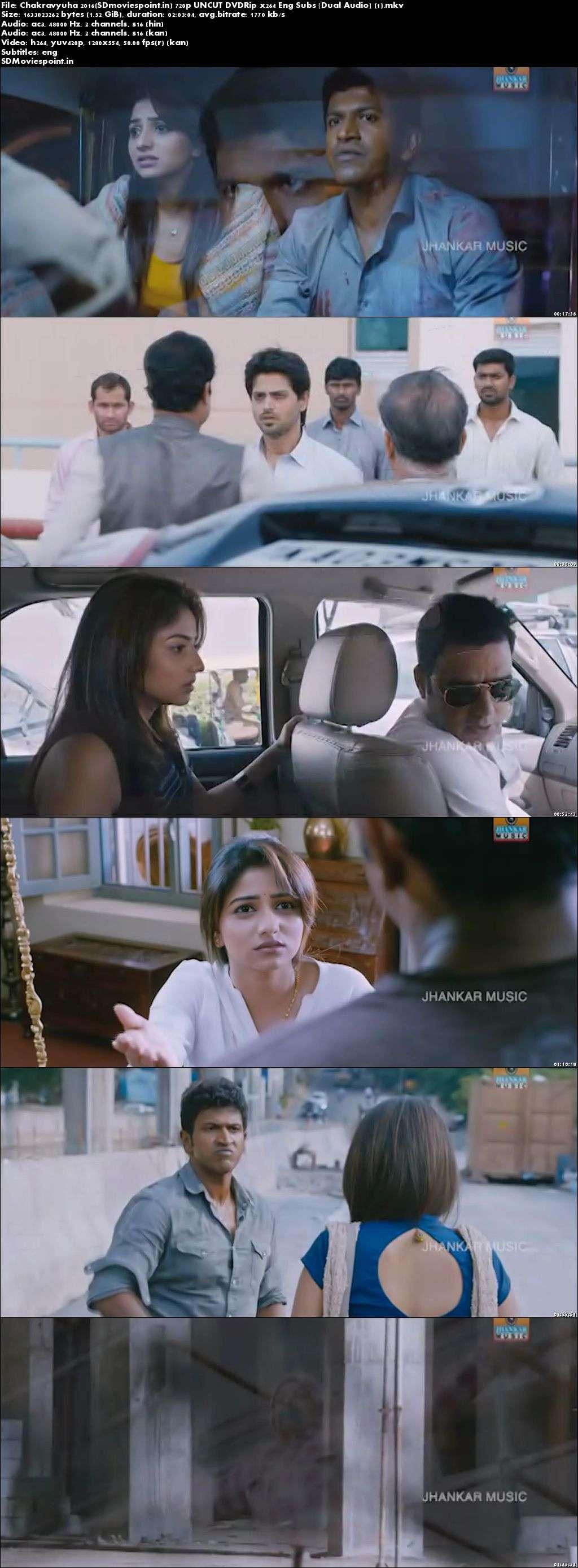 Screen Shots Chakravyuha (2016) Full HD Movie Download Hindi Dubbed Free 720p