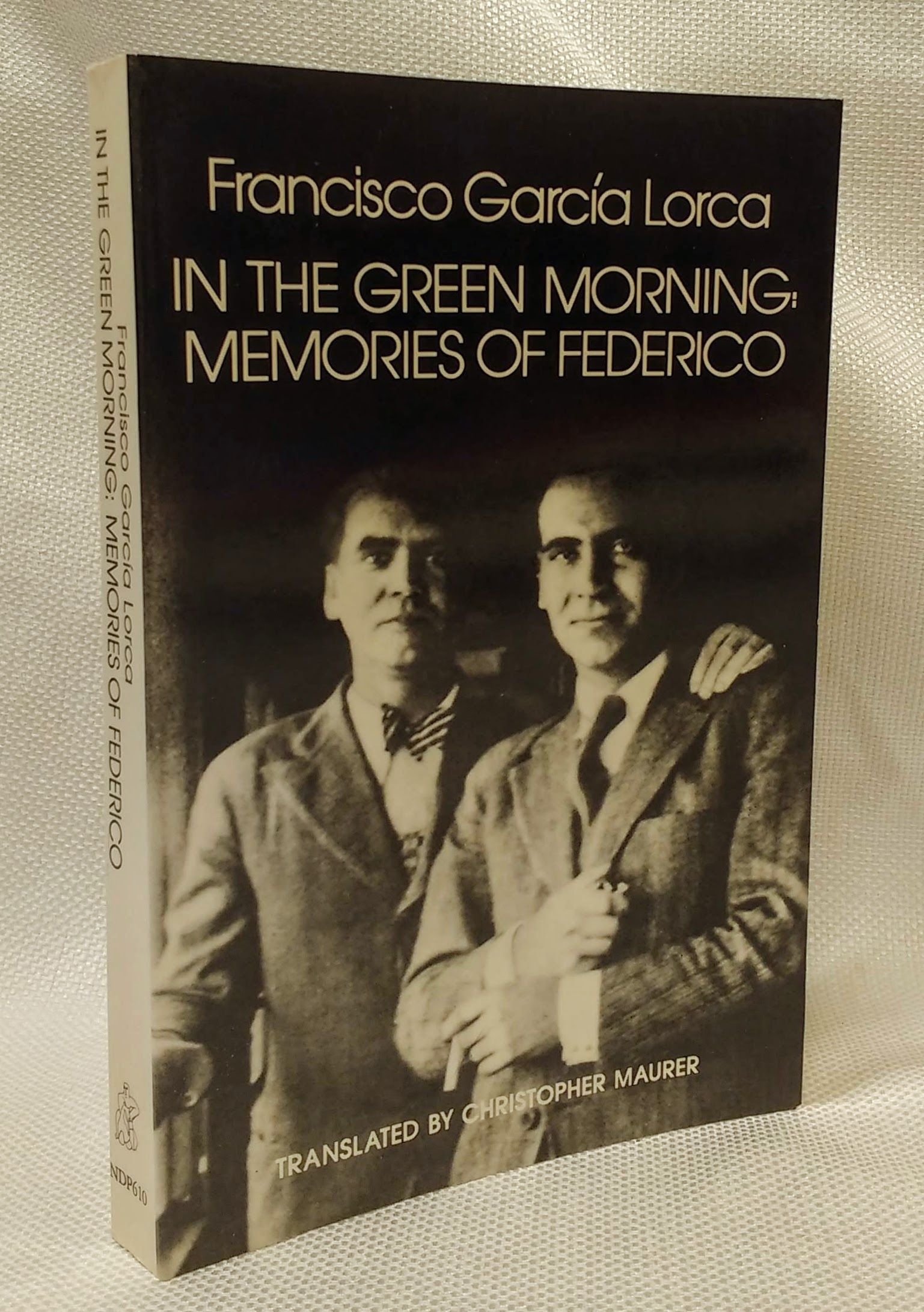 In the Green Morning, Lorca, Francisco García; Maurer, Christopher [Translator]