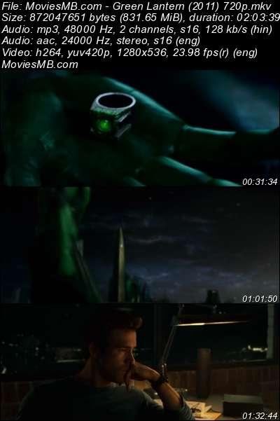 Green Lantern 2011 BRRip 720p Dual Audio Hindi English