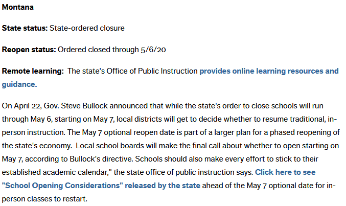 School Closures Information