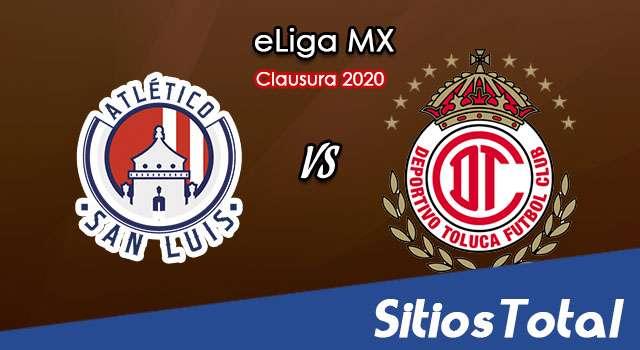 Atlético San Luis vs Toluca en Vivo – eLiga MX – Miércoles 3 de Junio del 2020