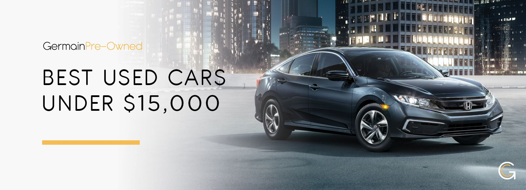 Best Used Cars Under $15,000 – Germain Cars