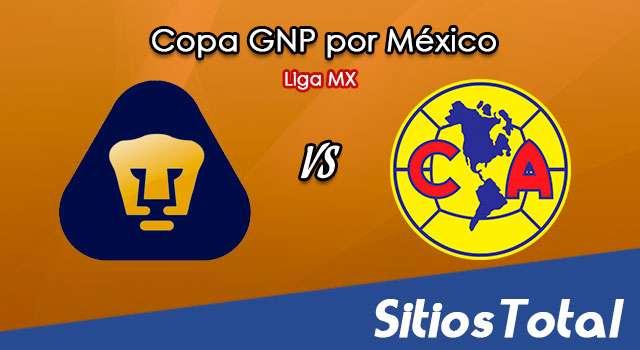Pumas vs América en Vivo – Copa GNP por México – Liga MX – Martes 7 de Julio del 2020