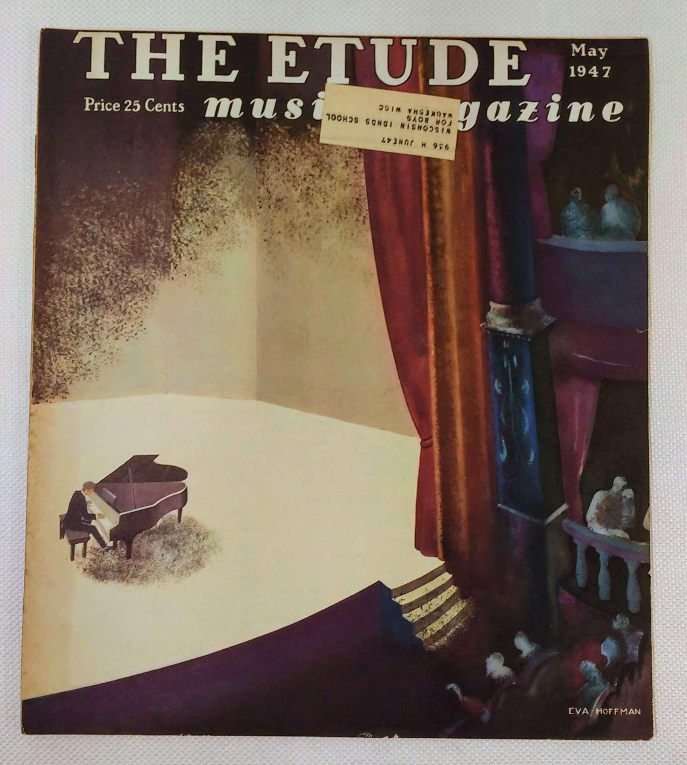 The Etude Music Magazine: Volume LXV, No. 5; May, 1947, Cooke, James Francis [ed.]