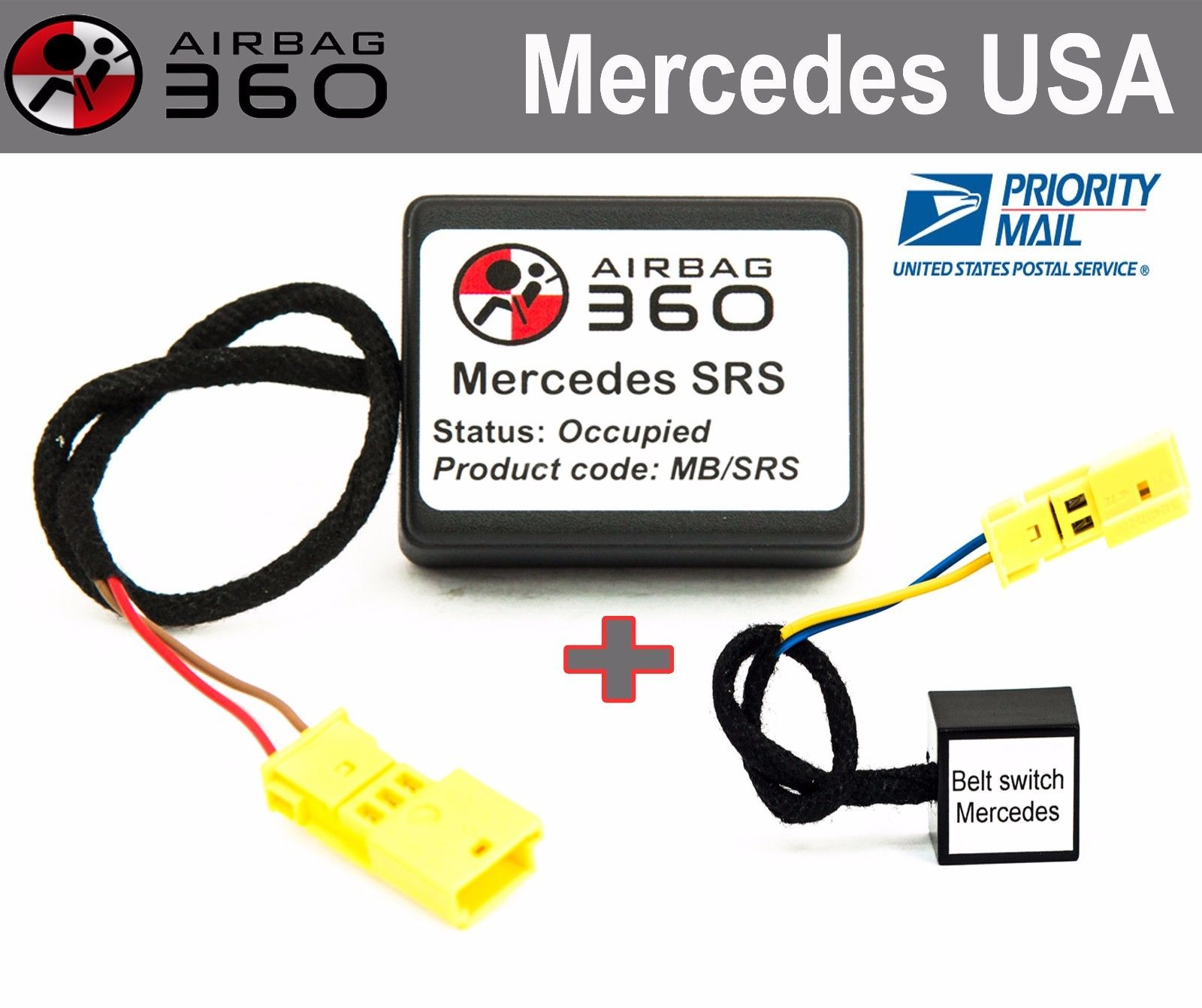 For MERCEDES CLK W208 1997-2003 Airbag Emulator Passanger Occupancy Seat Sensor