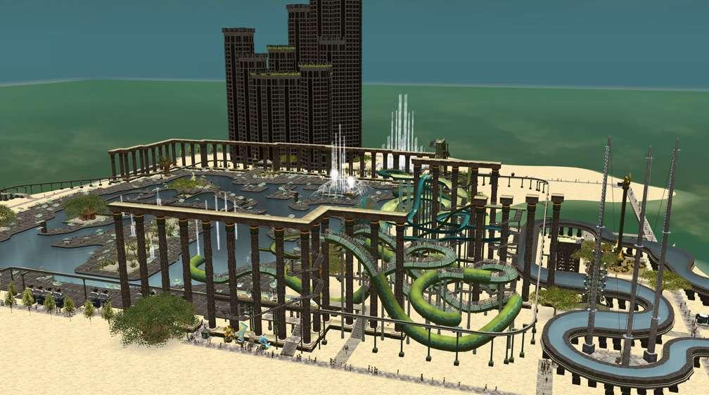 Image 01 - Parks, Scenarios, & Sandboxes - Scenario: Water World Resort