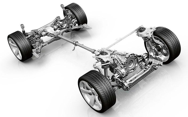 Audi quattro AWD Engineering