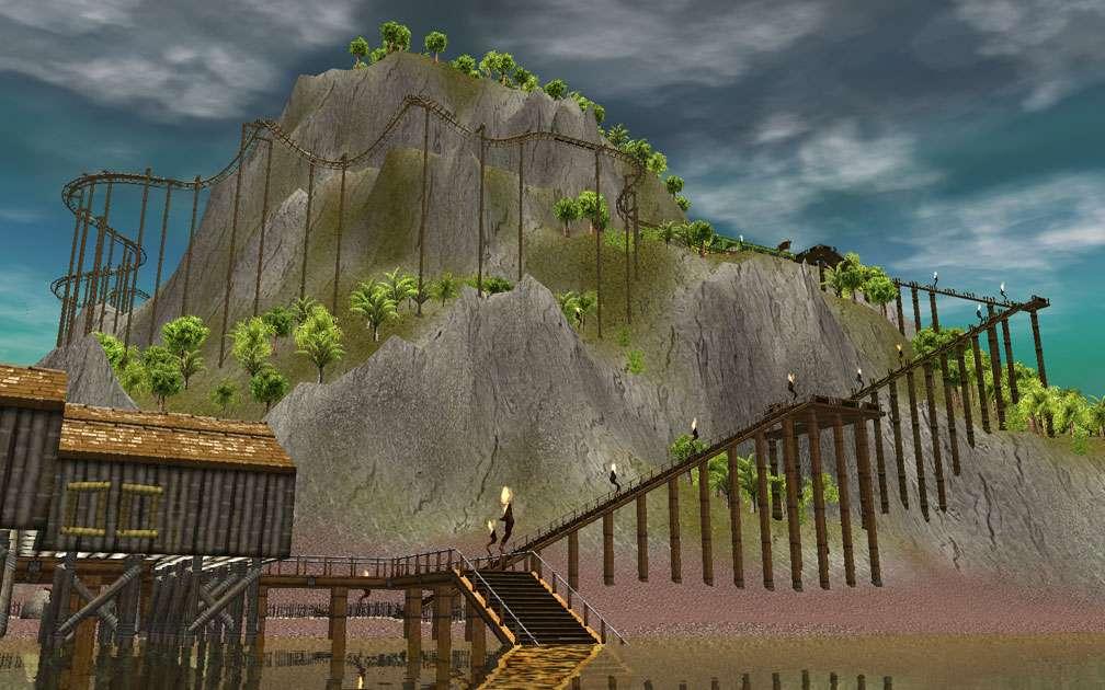 Lead Image for FlightToAtlantis.net: RCT3 FAQ: Campaign Scenario Directory Specifics: Paradise Island