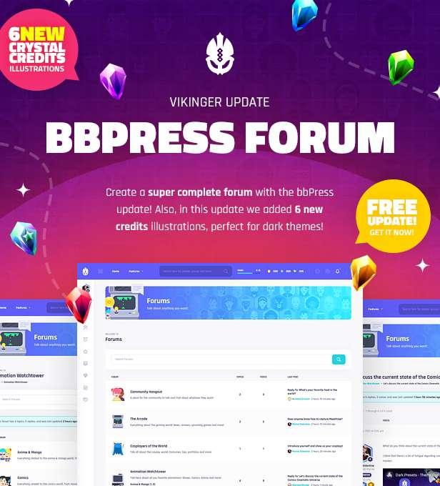 Vikinger - BuddyPress and GamiPress Social Community - 12