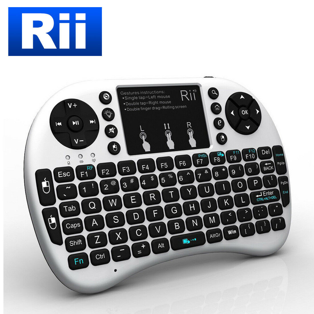 Details about Rii i8+ Mini Wireless Keyboard for PS4 Xbox 360 Kodi  Raspberry PI Android TV Box
