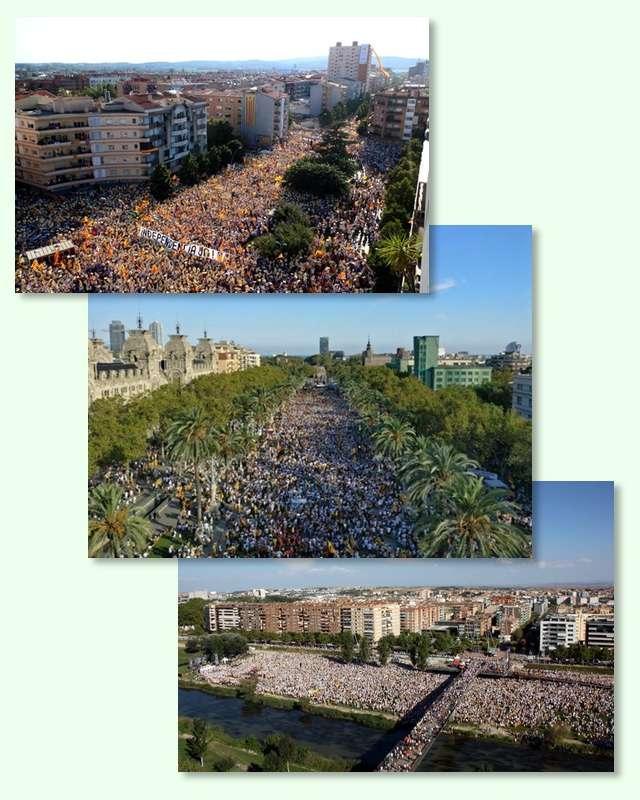 Manifestacions 11S 2016