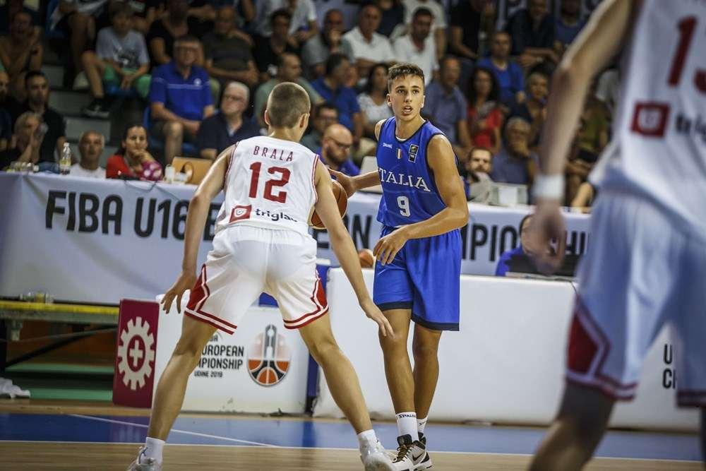 Italia Under 16 Matteo Spagnolo