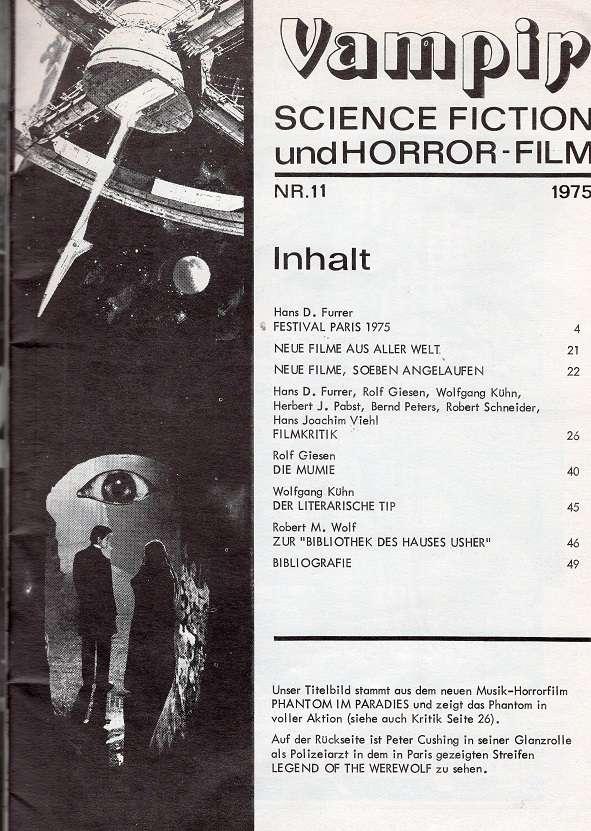 Vampir Sf Und Horror Film Classic Horror Film Board