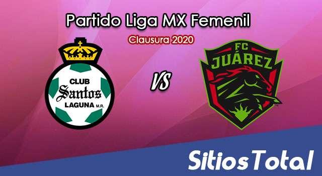 Ver Santos vs FC Juarez en Vivo – Liga MX Femenil – Clausura 2020 – Lunes 16 de Marzo del 2020