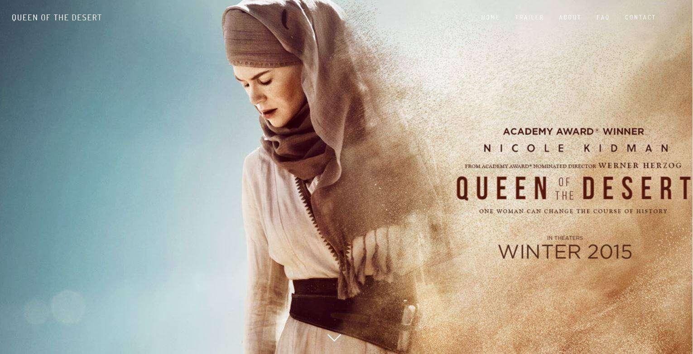 Nữ Hoàng Sa Mạc, Queen of the Desert 2015
