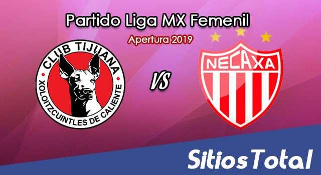Ver Xolos Tijuana vs Necaxa en Vivo – Liga MX Femenil – Apertura 2019 – Lunes 12 de Agosto del 2019