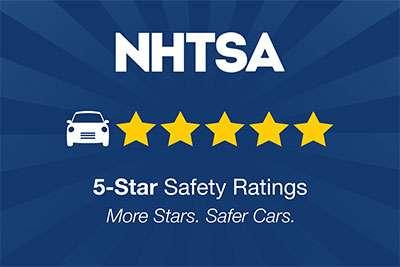 NHTSA 5-Star Overall Safety Rating