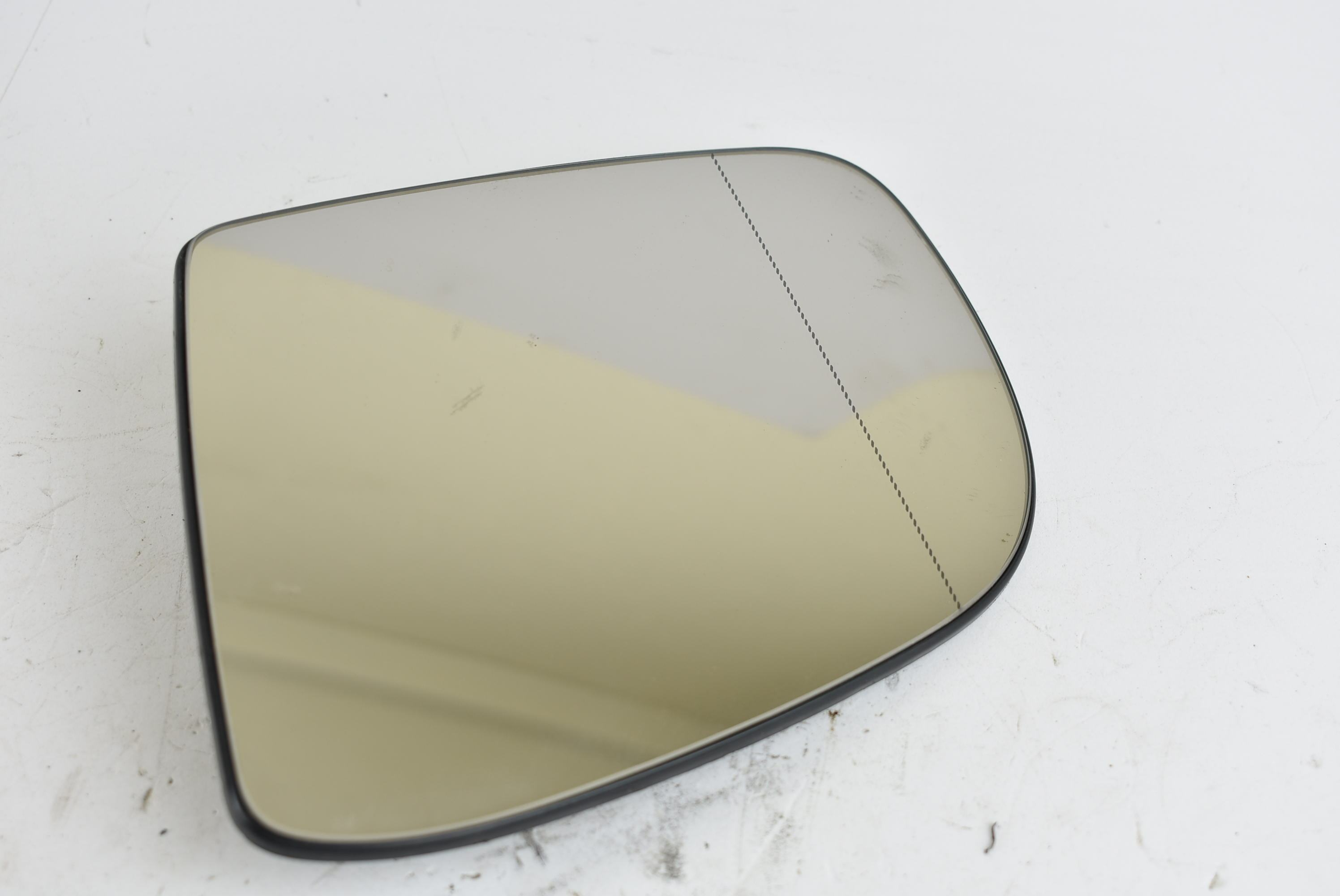 For Mercedes ML W163 02-05 Left passenger side Blue Aspheric wing mirror glass
