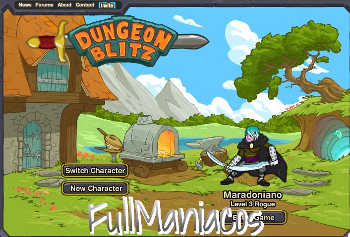 Actualizacion Dungeon  Blitz Hack Inmortalidad con CE trainer