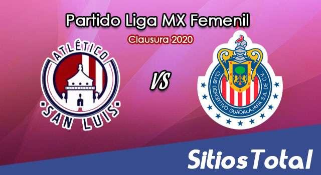 Ver Atlético San Luis vs Chivas en Vivo – Liga MX Femenil – Clausura 2020 – Lunes 27 de Enero del 2020