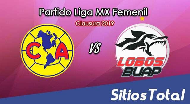 Ver América vs Lobos BUAP en Vivo – Liga MX Femenil – Clausura 2019 – Sábado 20 de Abril del 2019