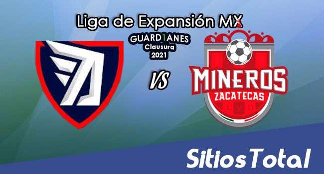 Tepatitlán FC vs Mineros de Zacatecas en Vivo – Partido de Ida Semifinales – Canal de TV, Fecha, Horario, MxM, Resultado – Guardianes Clausura 2021 de la  Liga de Expansión MX